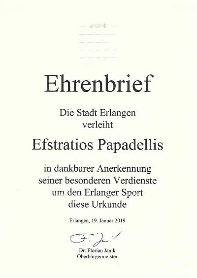 Ehrenbrief